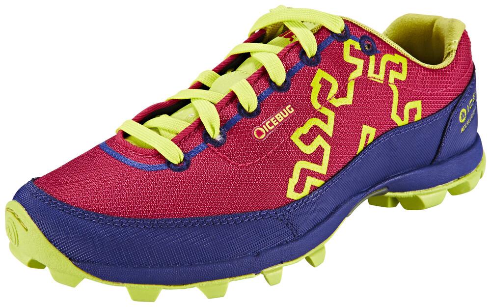 Icebug Anima5 BUGrip Shoes Women Pois/Mulberry 37,5 2016 Trail Running Schuhe